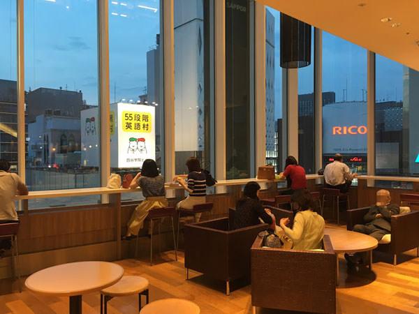 銀座三越の9階 休憩・カフェ