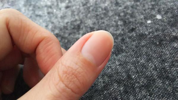 OPIアボプレックス キューティクルオイル トゥー ゴー使用後の写真