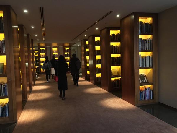 パークハイアット東京 図書館