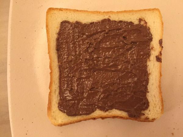 チョコトースト