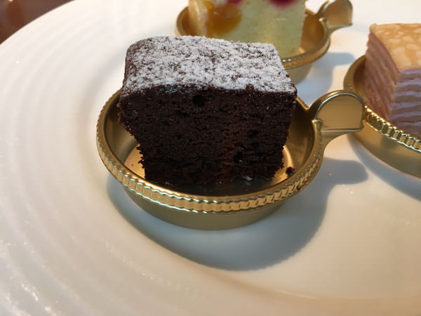 銀座東武ホテルフィオーレのガトーショコラ