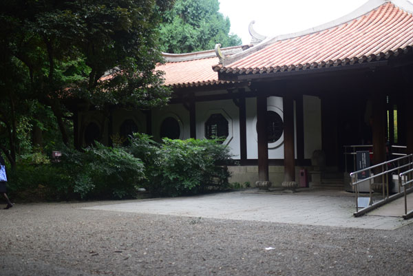 新宿御苑の旧御凉亭