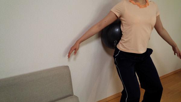 ボールを使った筋膜リリース