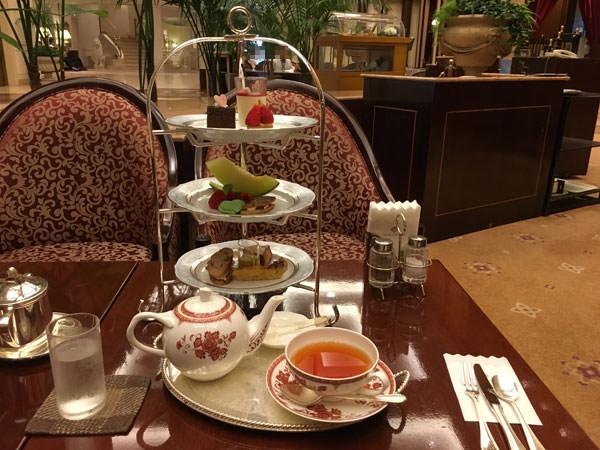 第一ホテル東京「ロビーラウンジ」アフタヌーンティー 口コミ