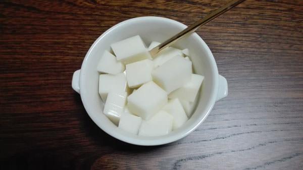 スキムミルク寒天ゼリー