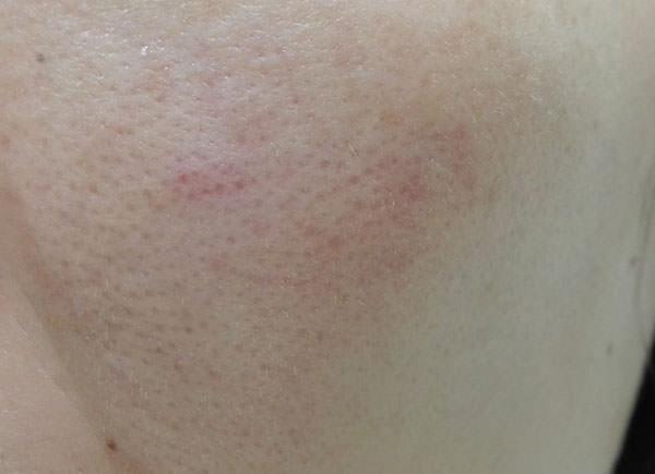 ビオレ「うるおいクレンジングリキッド」の使用後のお肌