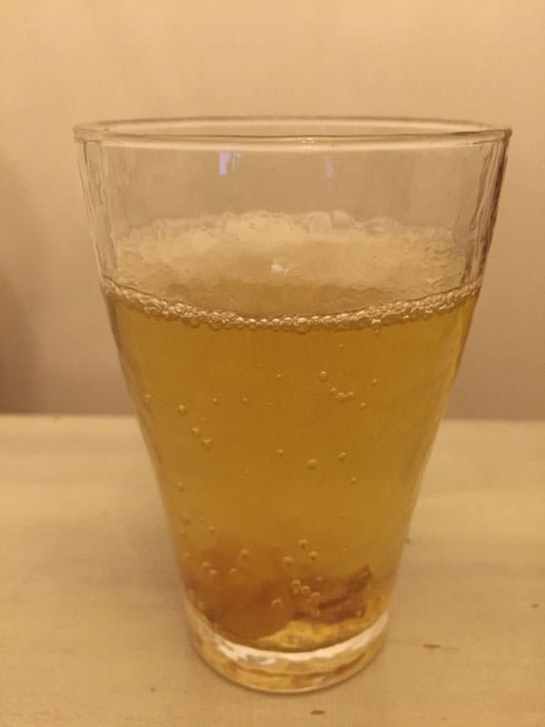 乾燥生姜の手作りジンジャーエール