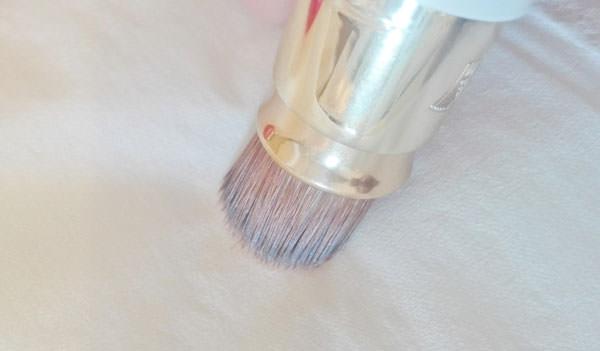 フローフシ エリアファンディ 筆のお手入れ・洗い方