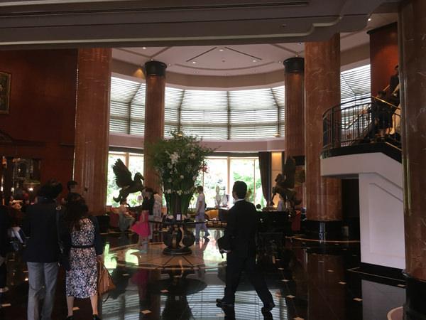 ウェスティンホテル東京「ザ・ラウンジ」