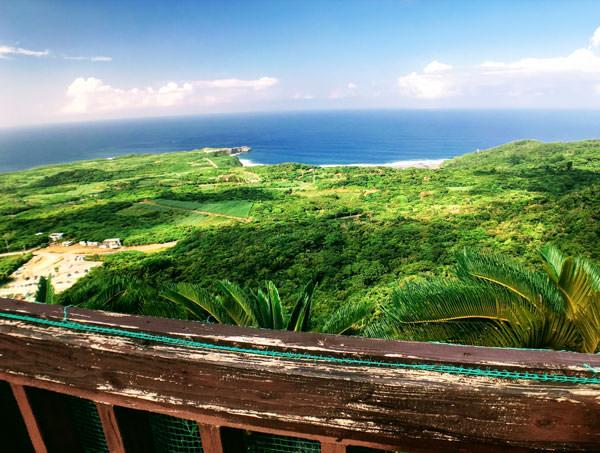 大石林山「美ら海展望台コース」で1番高い場所