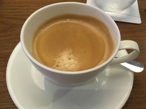 グランド ハイアット 福岡 「THE MARKET F(ザ マーケット エフ)」食後のコーヒー