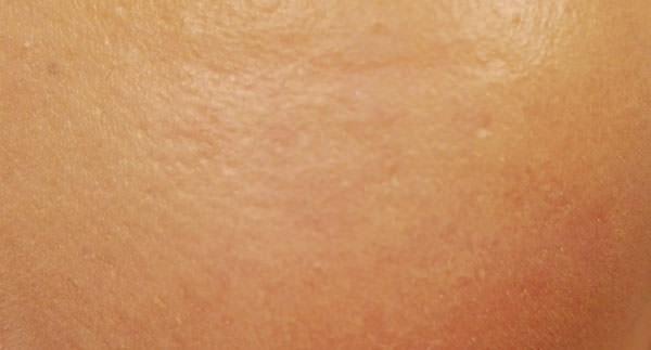 ベビーピンク BBクリーム使用後の肌