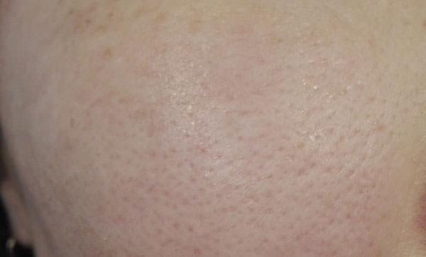 ファーマアクト クレンジングリキッド使用後の肌