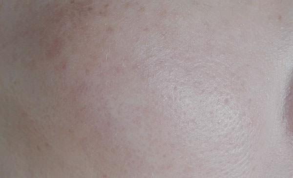 ニベアサン プロテクトウォータージェルを塗った後のお肌