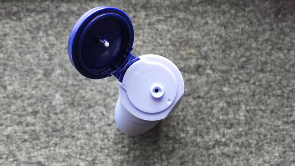 ニベア プレミアム ボディミルク フタを開けた写真