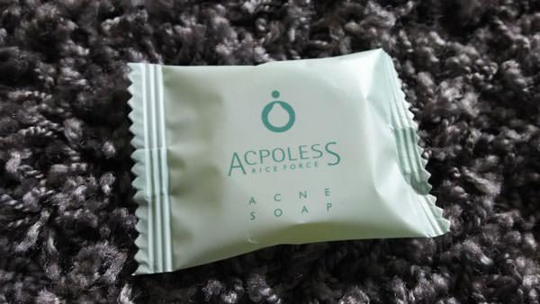 アクポレス アクネソープで毛穴ケア