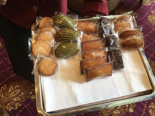 ザ・ラウンジ クラシカルアフタヌーンティー 焼き菓子