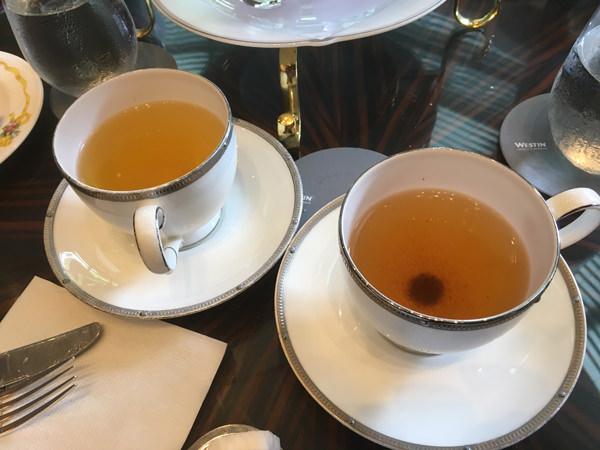 ウェスティンホテル東京 ザ・ラウンジ 毛尖緑茶とセイロンオレンジペコティー
