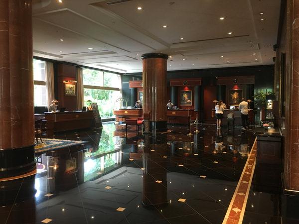 ウェスティンホテル東京1階フロア