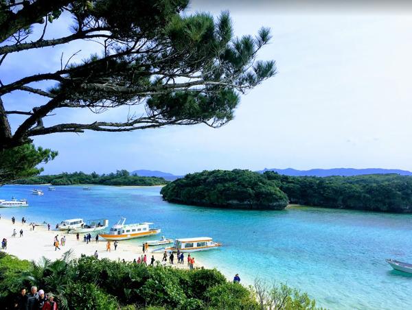 石垣島 川平湾(かびらわん)へ女子旅!グラスボート最高でした!