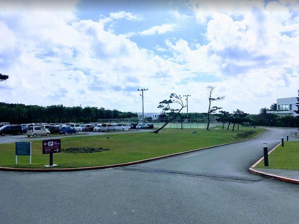 ANAインターコンチネンタル石垣リゾートの駐車場