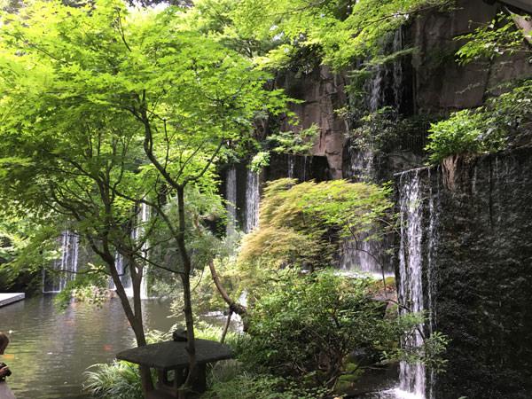 ホテル雅叙園東京の「お庭」