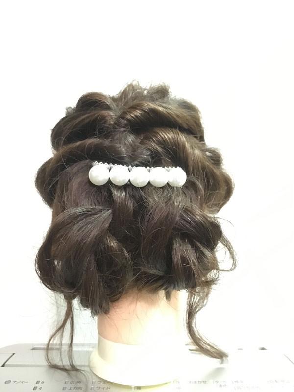 簡単「くるりんぱ」アレンジ編~浴衣・着物に似合う髪型~