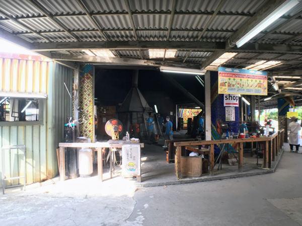 琉球ガラス村 ガラス工房