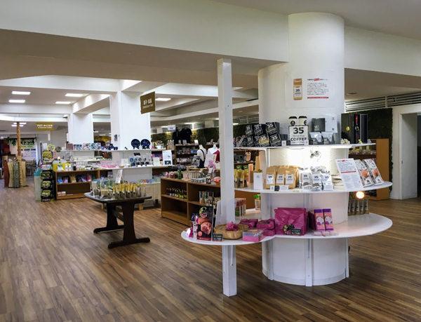 東南植物楽園 ショップ&カフェ