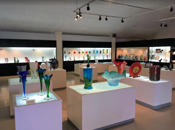 琉球ガラス村 ガラスギャラリー