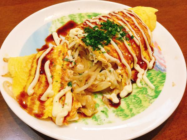 節約レシピ7.【40円】もやしとキャベツがたっぷり!満足のとんぺい焼き
