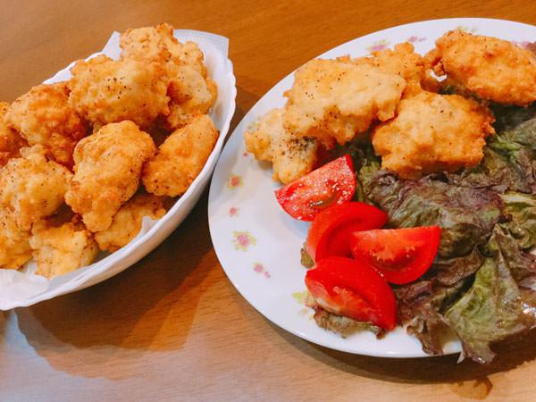 節約レシピ8.【45円】胸肉をミンチにして作る♪豆腐入りの格安ふんわりナゲット