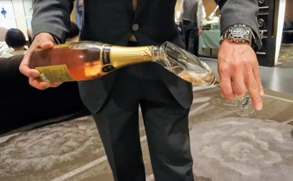 ニューヨークラウンジ By インターコンチネンタル 東京ベイロゼスパークリングワイン