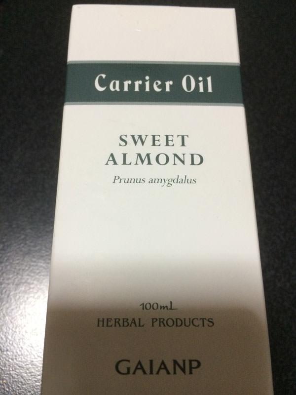 ガイアのアーモンドオイル