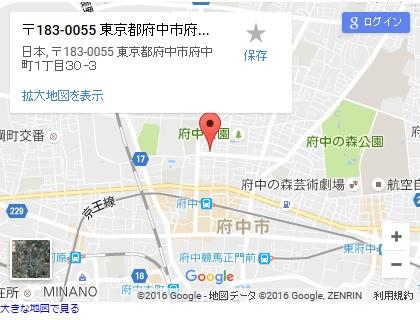 シースリー府中桜通り店の地図