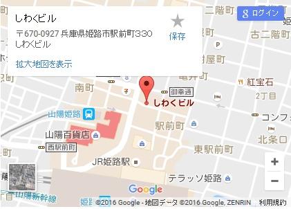 シースリー姫路店の地図