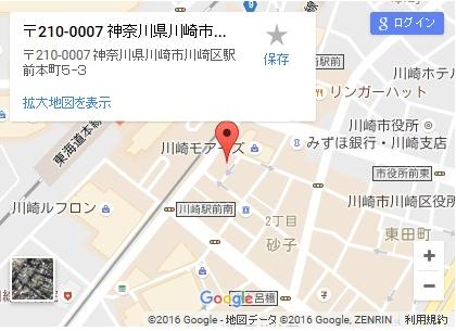 シースリー川崎駅前店の地図