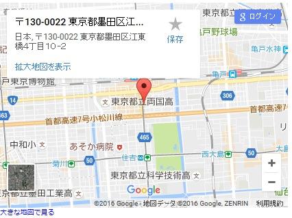 シースリー錦糸町店の地図