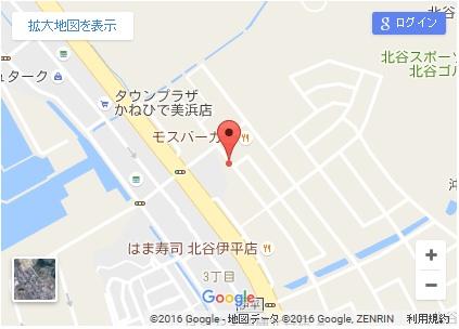 シースリー北谷店の地図