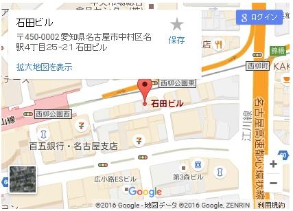 シースリー名駅店の地図