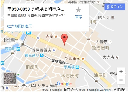 シースリー長崎店の地図