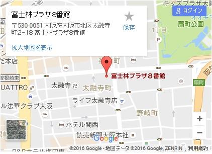 シースリー梅田店の地図