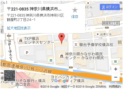 シースリー横浜西口店の地図