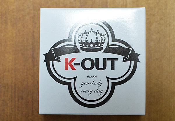 脱毛石鹸「K-OUT」