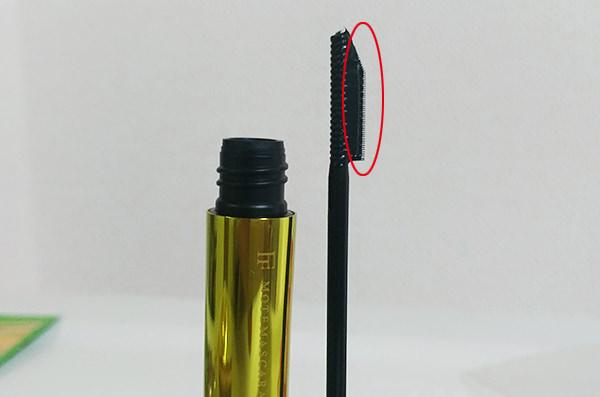 モテマスカラNATURAL2 セパレート(ブラック)のブラシ