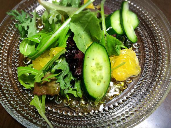 野菜にヘンプシードオイル