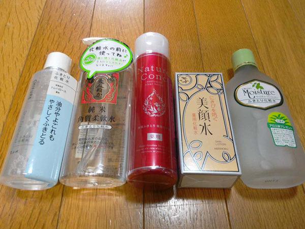 拭き取り化粧水【プチプラおすすめランキング】5商品口コミ