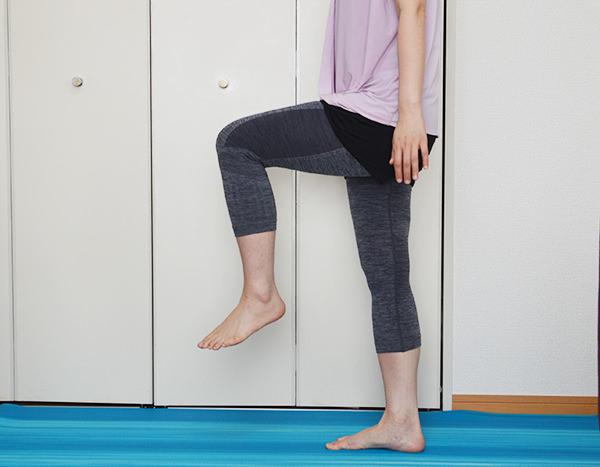 足を細くする歩き方
