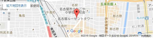 脱毛ラボ 名古屋駅前店の地図