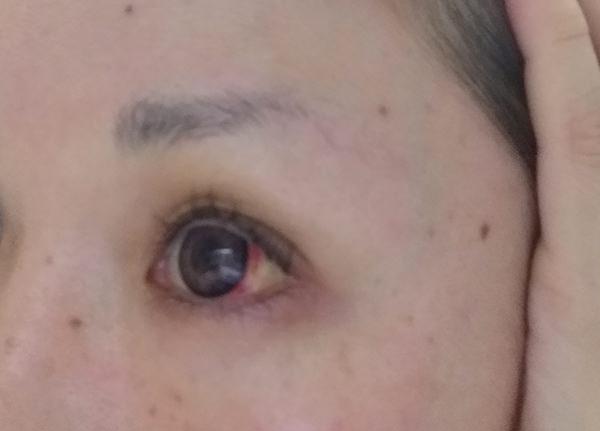 マユライズを眉毛に塗って5分後